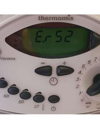 Reparación ERROR 52 Thermomix TM31